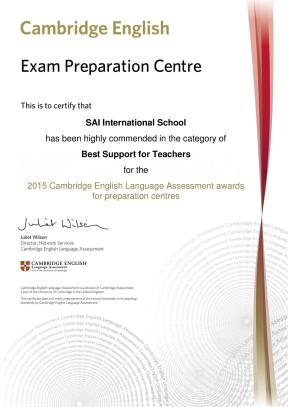 Highly commended certificate - SAI International School (1)-page-001
