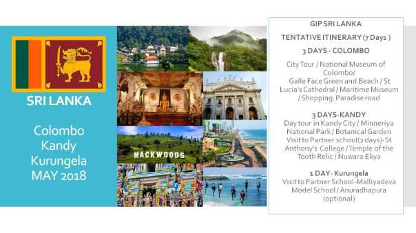 GIp Sri Lanka poster